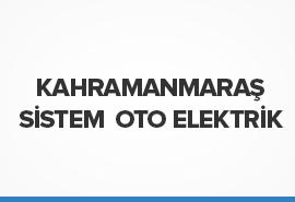 Kahramanmaraş Sistem Oto Elektrik